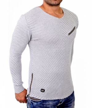 Pull homme TUKY gris 3003