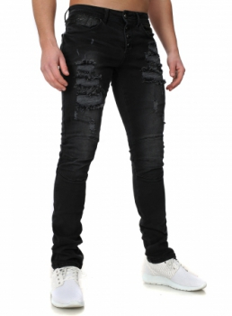 jeans slim noir troue homme jeans noir homme destroy troue delave slim fit jeans noir homme destroy. Black Bedroom Furniture Sets. Home Design Ideas