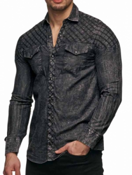Jeans 311 Homme Chemise Gris Antra InYfRdqvf