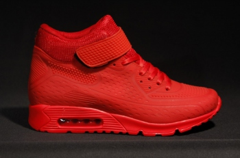 Sneakers homme rouge RY151