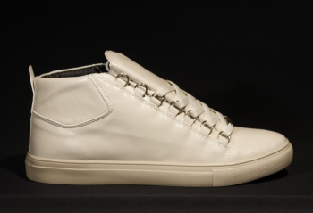 Sneakers homme crème G5-123