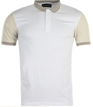 Polo homme blanc moulant 59