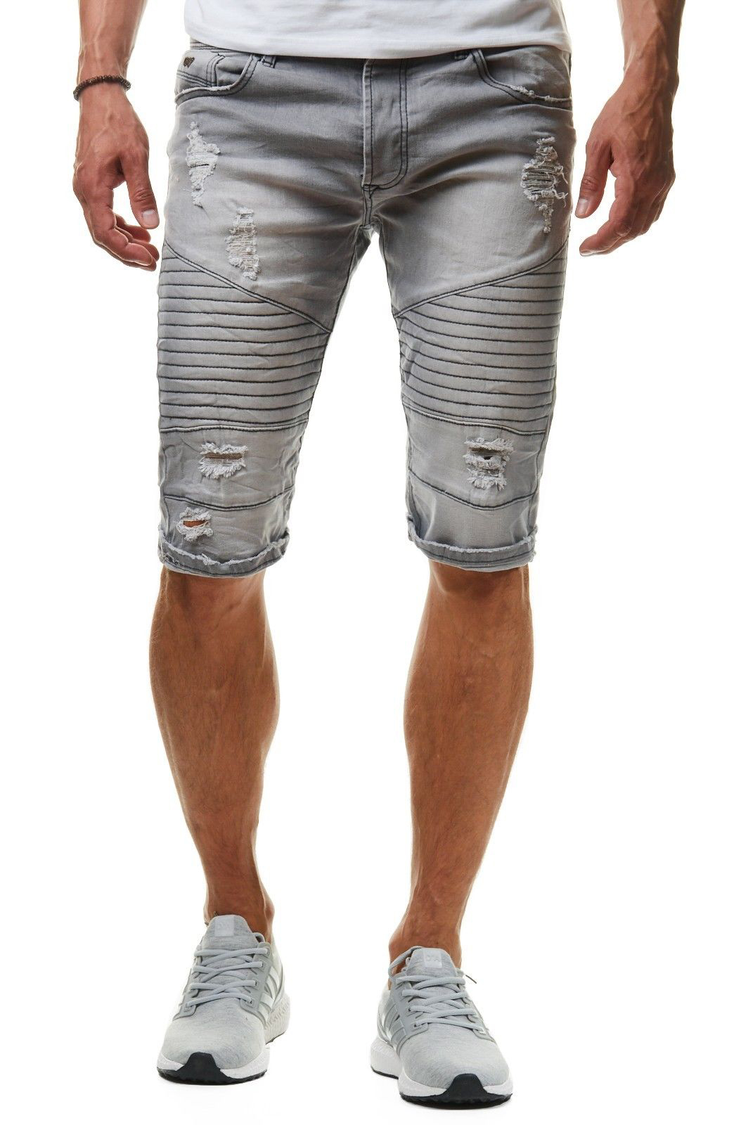 Bermuda Homme Jeans Clair Gris 210 xBodCer