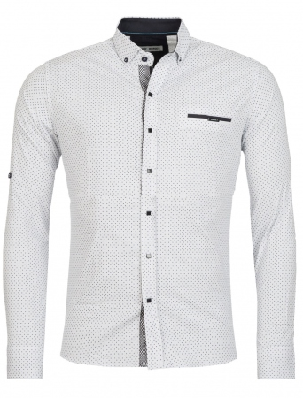 chemise homme italienne blanc KLOP 6203