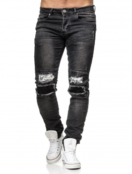jeans homme noir PERRY 8315