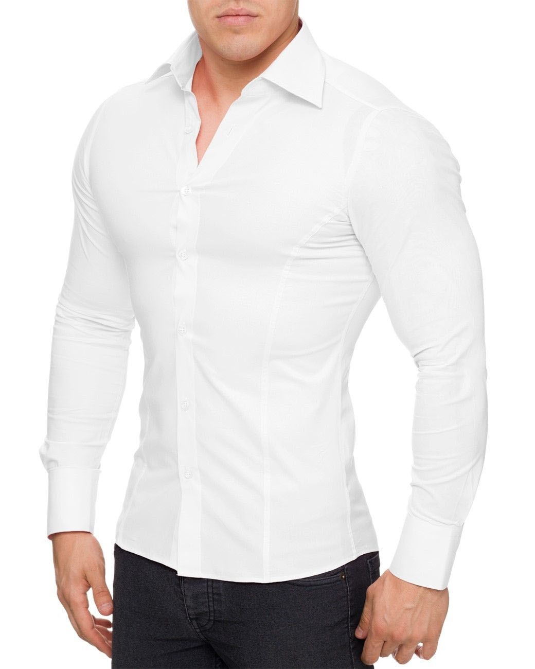 Slim Fit Chemise Homme - Grand Toyota ce645a7ff923
