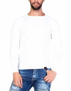 pull homme blanc WALLON 125