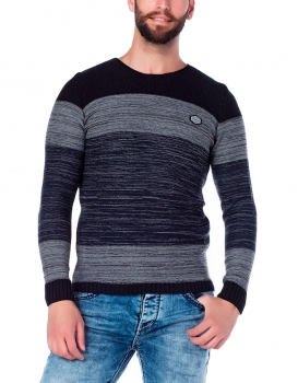 pull homme laine STANLEY gris 134