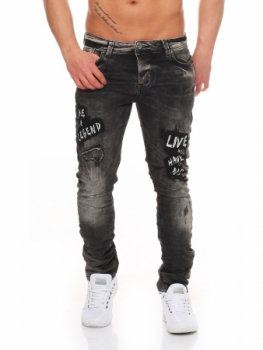 jeans homme gris be legend 4105