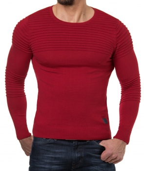Pull homme rouge nited 647