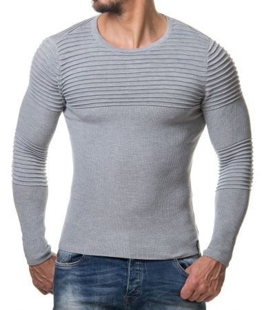 Pull homme gris nited 647