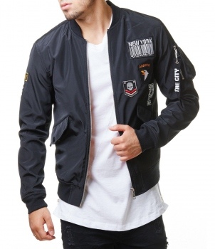 Bomber homme avec patch 152