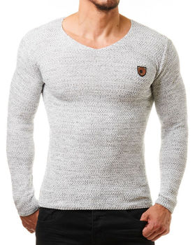Pull homme gris LYAM 464