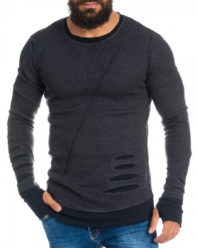 pull homme noir destroy chadow 3020