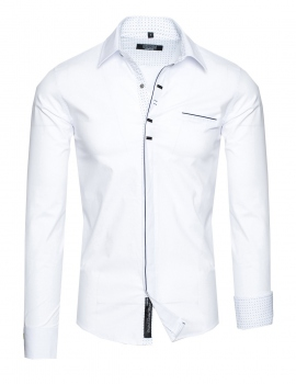 chemise homme classe blanche 854
