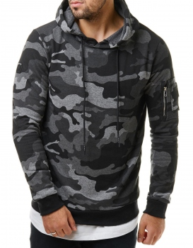 sweat homme camo gris 102