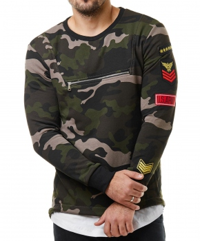 Pull Homme Homme Patchs Pull Camouflage 760 Camouflage Patchs Homme Pull 760 q4L3AjR5