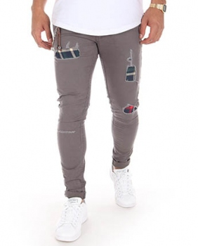 chino homme slim  gris 603