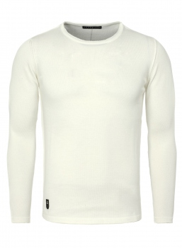 Pull homme fin blanc 3040