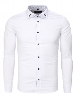 chemise homme fashion italienne blanche 370