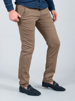 chino homme slim marron  566