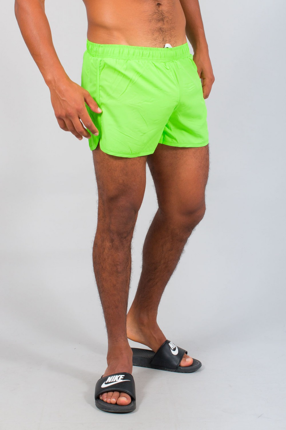 hot-vente plus récent grand assortiment section spéciale short de bain homme vert fluo 624