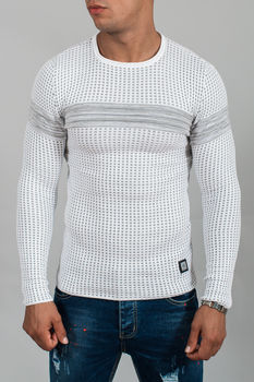 pull homme blanc 3095