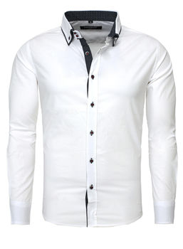 chemise italienne homme blanche 861