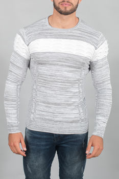 pull homme blanc 3136