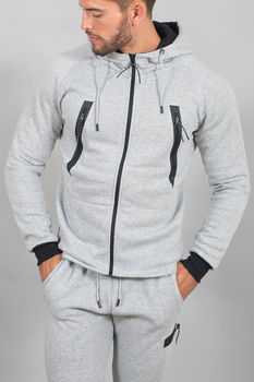 ensemble jogging homme gris  93