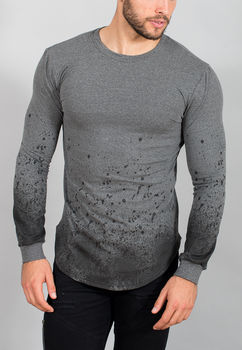 Sweat homme gris dégradé MT01