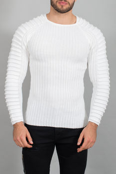Pull homme blanc 1865