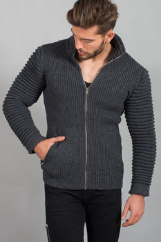 gilet homme gris antra 1933