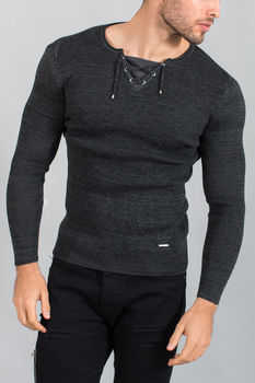 pull homme stylé gris smoke 1590