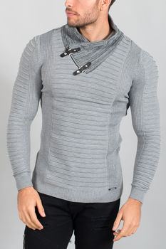 pull homme gris 1620