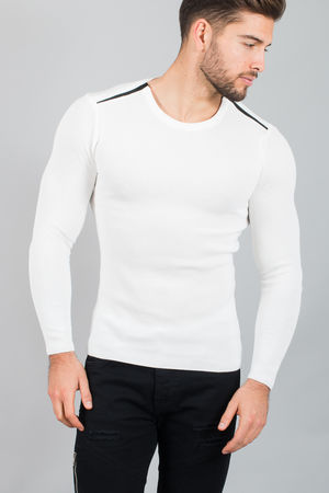 pull homme blanc  2011