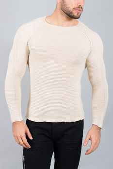 pull homme crème  1442