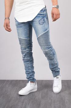 jeans homme slim clair 15250