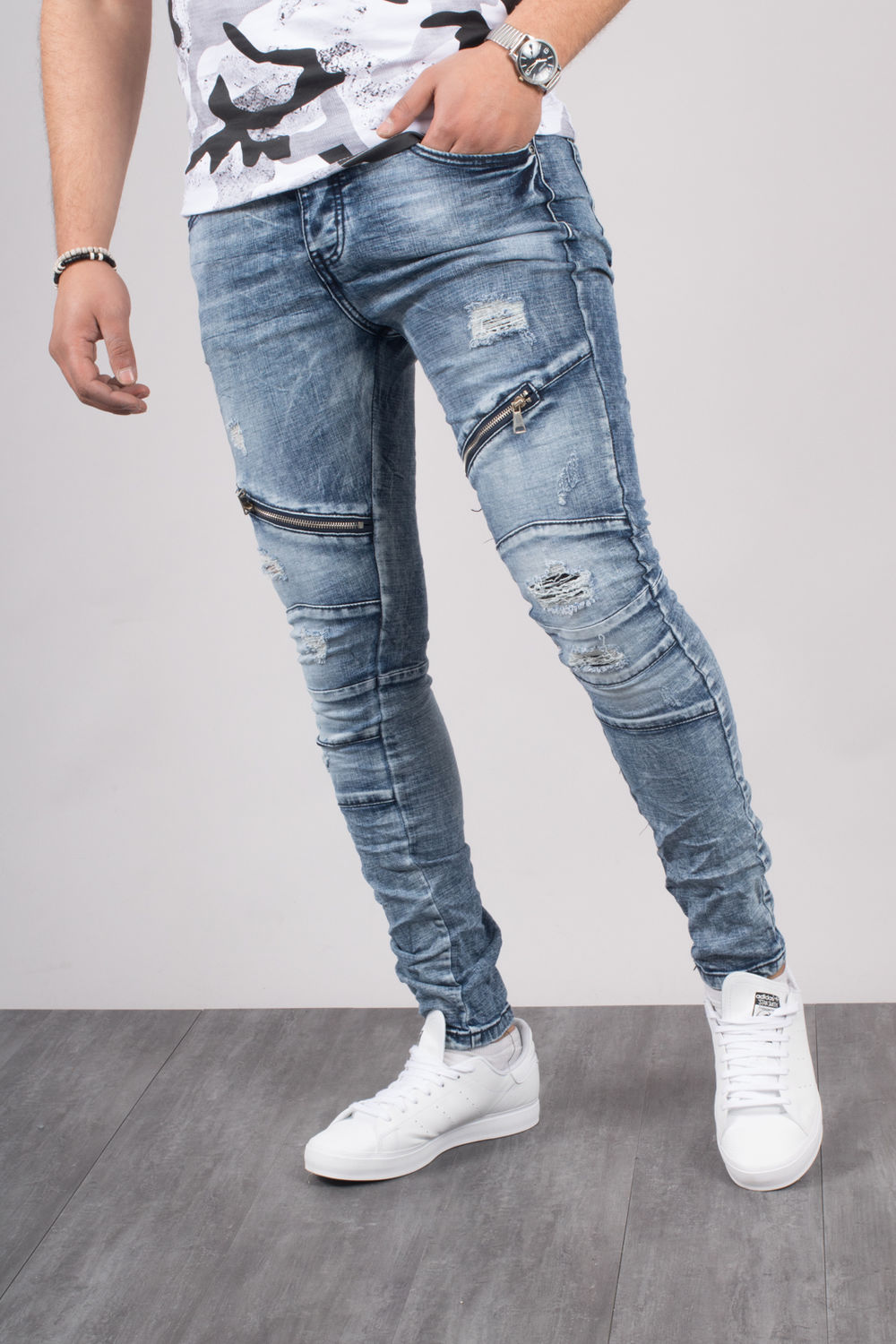 Jean Slim Homme Swag Stunning Nike Menus Aw French Terry Cuff