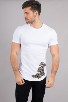 T-shirt homme blanc AA18001
