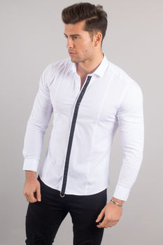 chemise italienne homme classe blanche 3315
