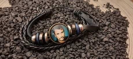 BRACELET CUIR NOIR JOHNNY