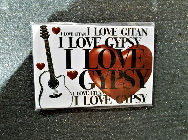 MAGNET AIMANT I LOVE GYPSY