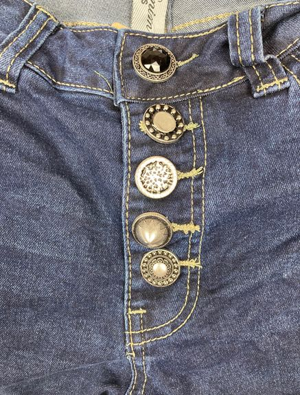 Jeans Boutons