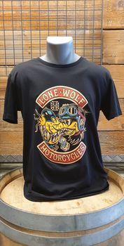 T-shirt LONE WOLF MOTORCYCLES