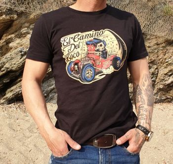 T-SHIRT Hot rod Homme