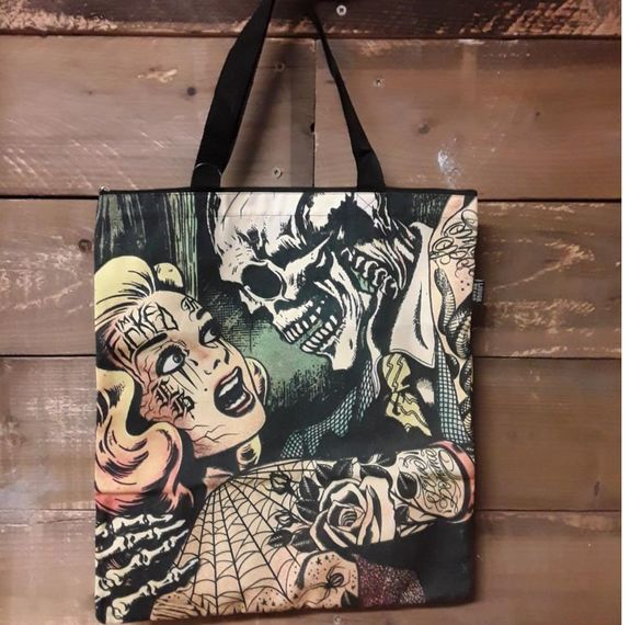 Sac Tote Bag Horror