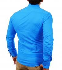 Chemise col Mao pour homme