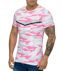 T-shirt homme camouflage