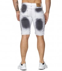 Short jeans fashion homme